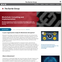 Blockchain Consulting and Implementation