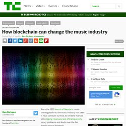How blockchain can change the music industry