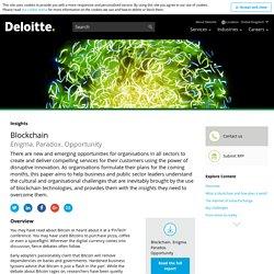 Blockchain POV