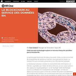 La blockchain au service des données RH
