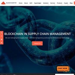 Blockchain Solution for Supply Chain