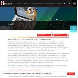 Blockchain 101 – The Next Big Shift in Technology – Hexaware Blogs