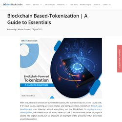 Blockchain-Based Tokenization