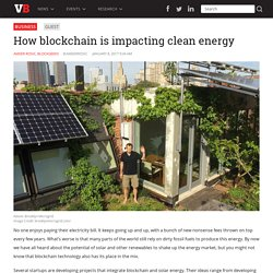 How Blockchain is Impacting Clean Energy