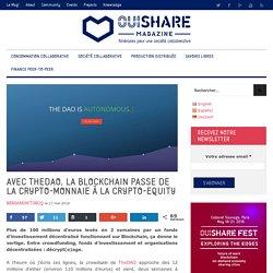 """Avec """"TheDAO"""", la Blockchain passe à la vitesse supérieure"""
