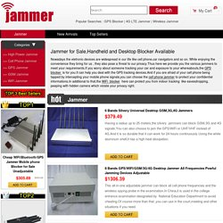 Signal Jammer/Blocker for Sale, Frequency Jamming Device Store