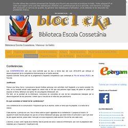blocTeka: Conferències