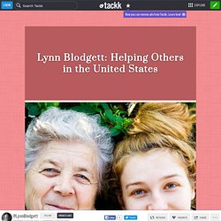 Lynn Blodgett: Helping Others in the United States