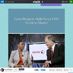 Lynn Blodgett: Skills Every CEO Needs to Master