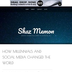 Blog by Shaz Memon