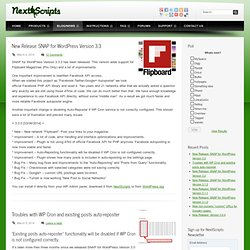 Blog - - NextScriptsNextScripts