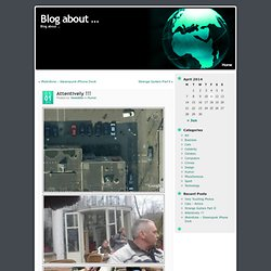 Blog about ... ?サ Attentively !!! - StumbleUpon
