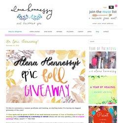 blog - alena hennessy