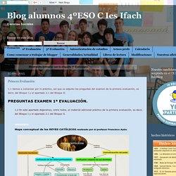 Blog alumnos 4ºESO C Ies Ifach: 1ª Evaluación