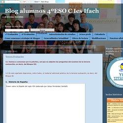 Blog alumnos 4ºESO C Ies Ifach: 3ª Evaluación