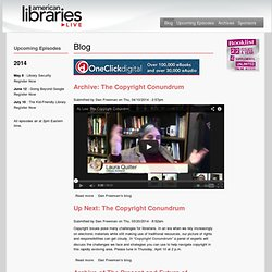 Blogs | American Libraries Live