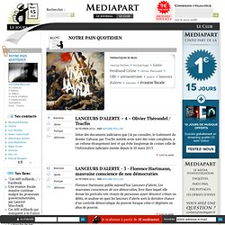 Médiapart : Le blog de Antoine Peillon