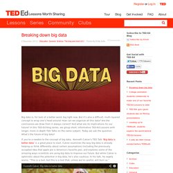 Breaking down big data
