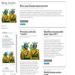 Blog Arolla - Je pense donc je blogue