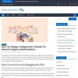Best tips for writing seo friendly blog in 2020