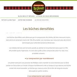 blog bois et bûches » Les bûches densifiées