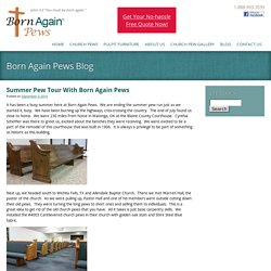 Blog - Born Again Pews