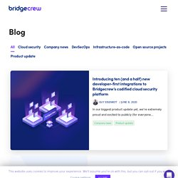 Blog - Bridgecrew