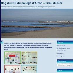 Blog du CDI du collège d'Alzon – Grau du Roi