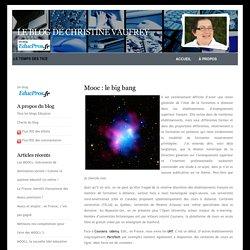 Le blog de Christine Vaufrey » Blog Archive » Mooc : le big bang