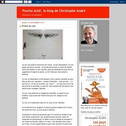 Psycho Actif, le blog de Christophe André: Prière du soir