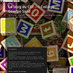 ) Collège George Sand: Les papertoys