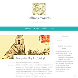 Blog – Collines d'Artois