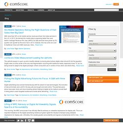 comScore Voices - The comScore Blog