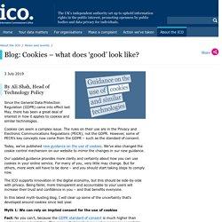 Blog: Cookies – what does 'good' look like?