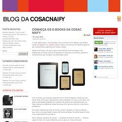 Conheça os e-books da Cosac Naify