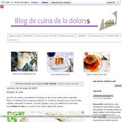 Blog de cuina de la dolorss: Cuina catalana