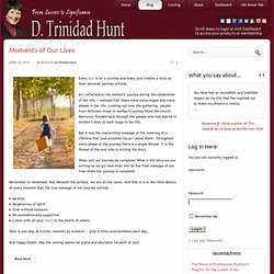 Blog | D. Trinidad Hunt