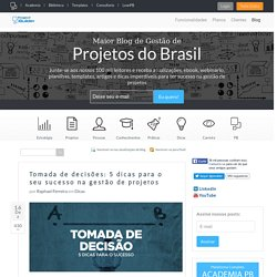 Blog de Gestão de Projetos