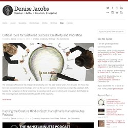 Blog - Denise Jacobs