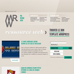 Blog Design Graphique