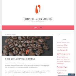 Blog – Deutsch – aber richtig!