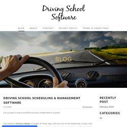 Driving School Business Management Software
