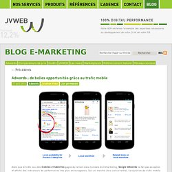 Blog JVWEB: Actualité de l'emarketing