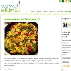 Blog | Eat Well with Janel