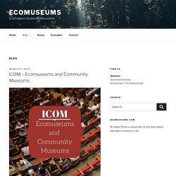 Blog – Ecomuseums