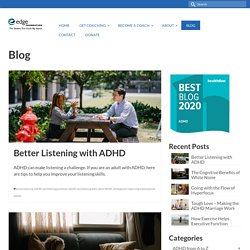 Blog | Edge ADHD Coaching