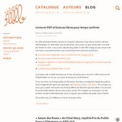 Blog – Éditions FLBLB