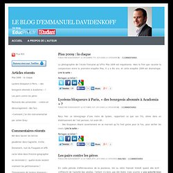 le Blog d'Emmanuel Davidenkoff