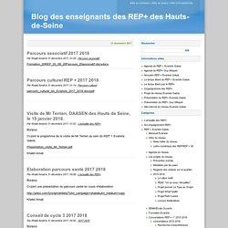 Blog des enseignants des REP+ des Hauts-de-Seine