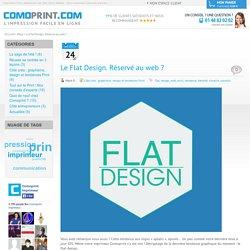 Blog - Le Flat Design. Réservé au web ?
